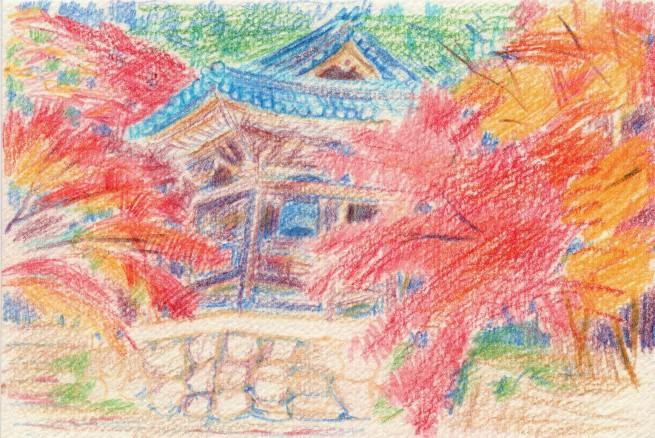 Tokoji Temple in Autumn